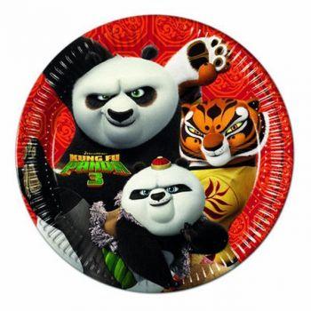 Piatto Grande Kung Fu Panda 3 - 8 pz