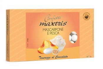 Confetti Maxtris Mascarpone e Pesca 1 kg
