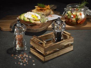 Mini cassettina in legno 13.5x8.5x6.7 per finger food