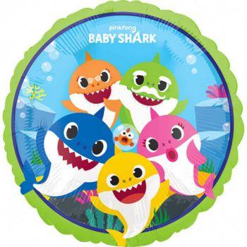 Palloncino Baby Shark 43 cm - 1 pz