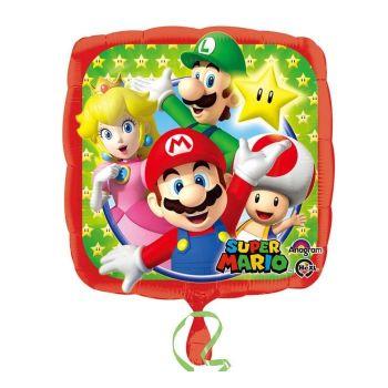 Palloncino foil Super Mario Bros 43 cm