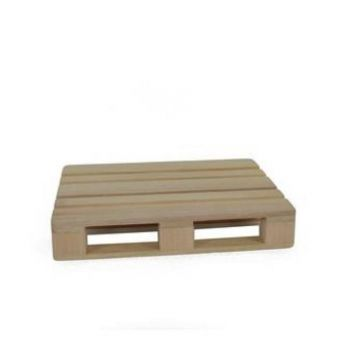 Mini pedana paillet in legno 18 x 12 cm