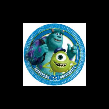 Piatto Piccolo Monster University 18 cm - 8 pz