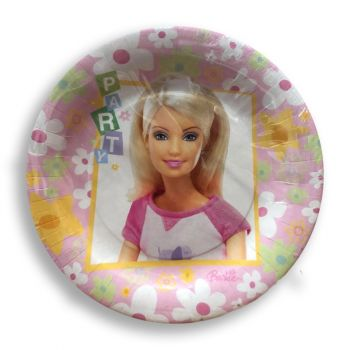 Piatto Barbie Free Play 18 cm