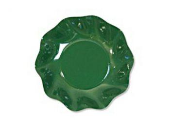 10 Scodelle Tinta Unita in cartoncino Verdi 24 cm