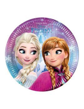 Piatto piccolo Frozen 19.5 cm - 8 pz