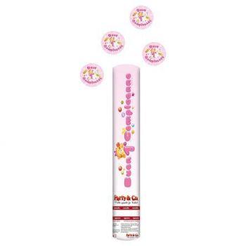 Sparacoriandoli Buon Primo Compleanno Rosa altezza 40 cm