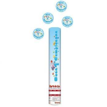Sparacoriandoli Buon Primo Compleanno Azzurro altezza 40 cm