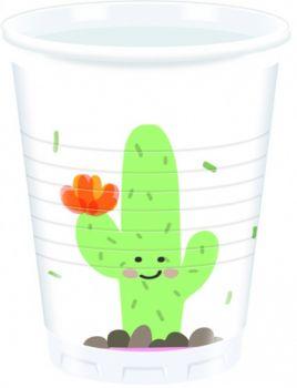 Bicchieri Cactus 200 cc - 8 pz