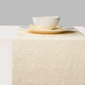 Runner da tavola 33 x 600 Elegance Pearl Cream