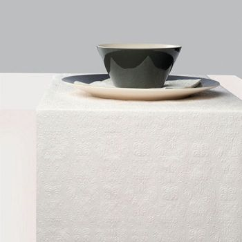 Runner da tavola 33 x 600 Elegance Pearl White