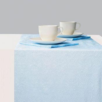 Runner da tavola 33 x 600 Elegance Pearl Blue