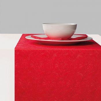 Runner da tavola 33 x 600 Elegance Rosso