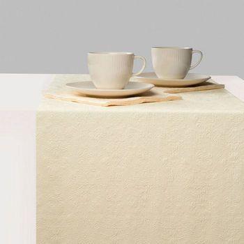 Runner da tavola 33 x 600 Elegance cream