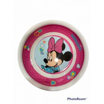 Scodella in melamina per la scuola Minnie 23 cm