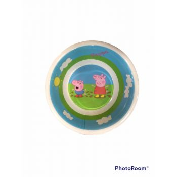Scodella in melamina per la scuola Peppa Pig 18 cm