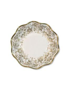 10 Coppette noblesse oro 18.5 cm