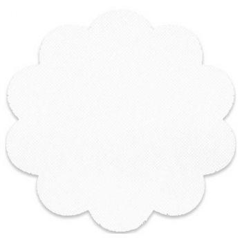 24 Sottobicchieri tnt 12 cm bianco
