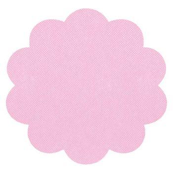 12 Sottopiatti tnt 35 cm rosa
