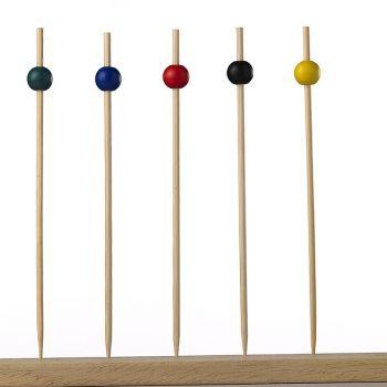 Spiedi in bamboo sfera 15 cm 100 Pz
