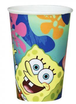 Bicchieri Spongebob 200 cc - 6 pz