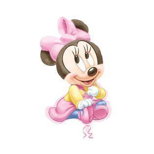 Pallone Foil Super Shape Baby Minnie 33 x 84 cm - 1 pz