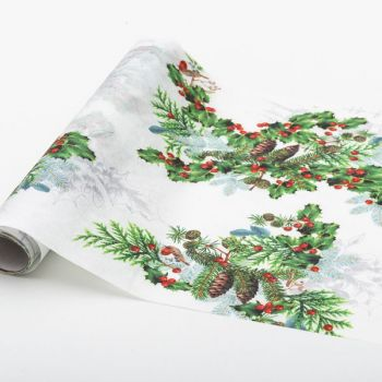 Table runner winter holiday 28 x 3