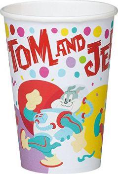 10 Bicchieri in cartoncino 200 cc Tom & Jerry