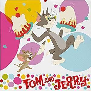 20 Tovaglioli di carta Tom & Jerry