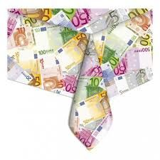 Tovaglia in plastica Euro