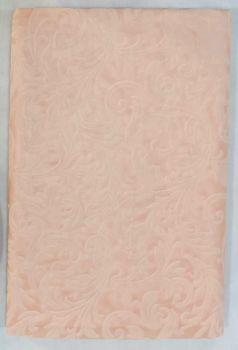 Tovaglia damascata rosa in tnt