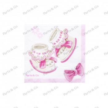 Tovaglioli Baby Rosa 2 veli 33 x 33 cm 20 pezzi