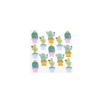 Tovaglioli Happy Cactus 33 x 33 cm - 20 pz