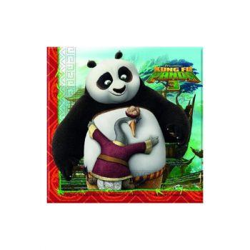 Tovaglioli Kung Fu Panda 3 - 33 x 33 cm - 20 pz