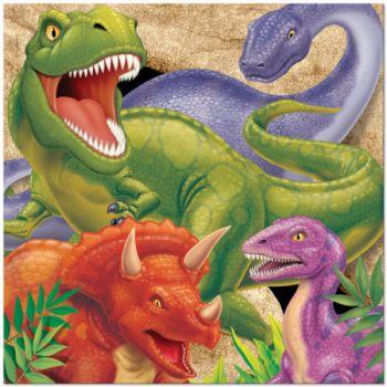 Tovaglioli Dino Blast 33 x 33 cm - 16 pz