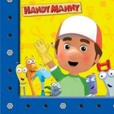Tovaglioli Handy Manny 33 x 33 cm - 20 pz