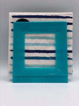 Portatovaglioli Smart Turchese 33 x 33 cm in plastica rigida