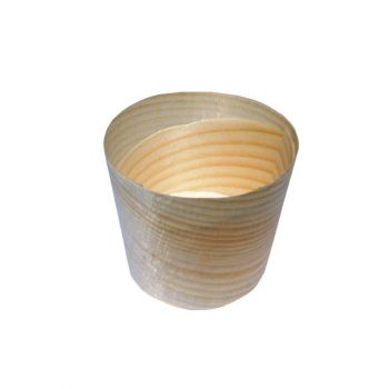 Vaschetta in legno ø 4.5 x 4.3 - 50 pz